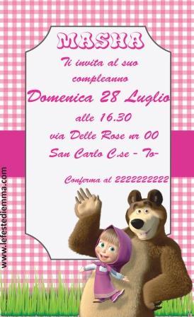 masha e orso compleanno 01