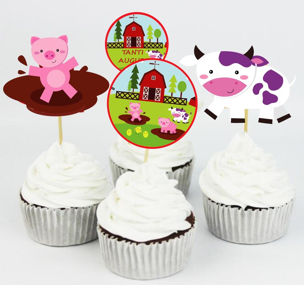 muffin decorati con animali