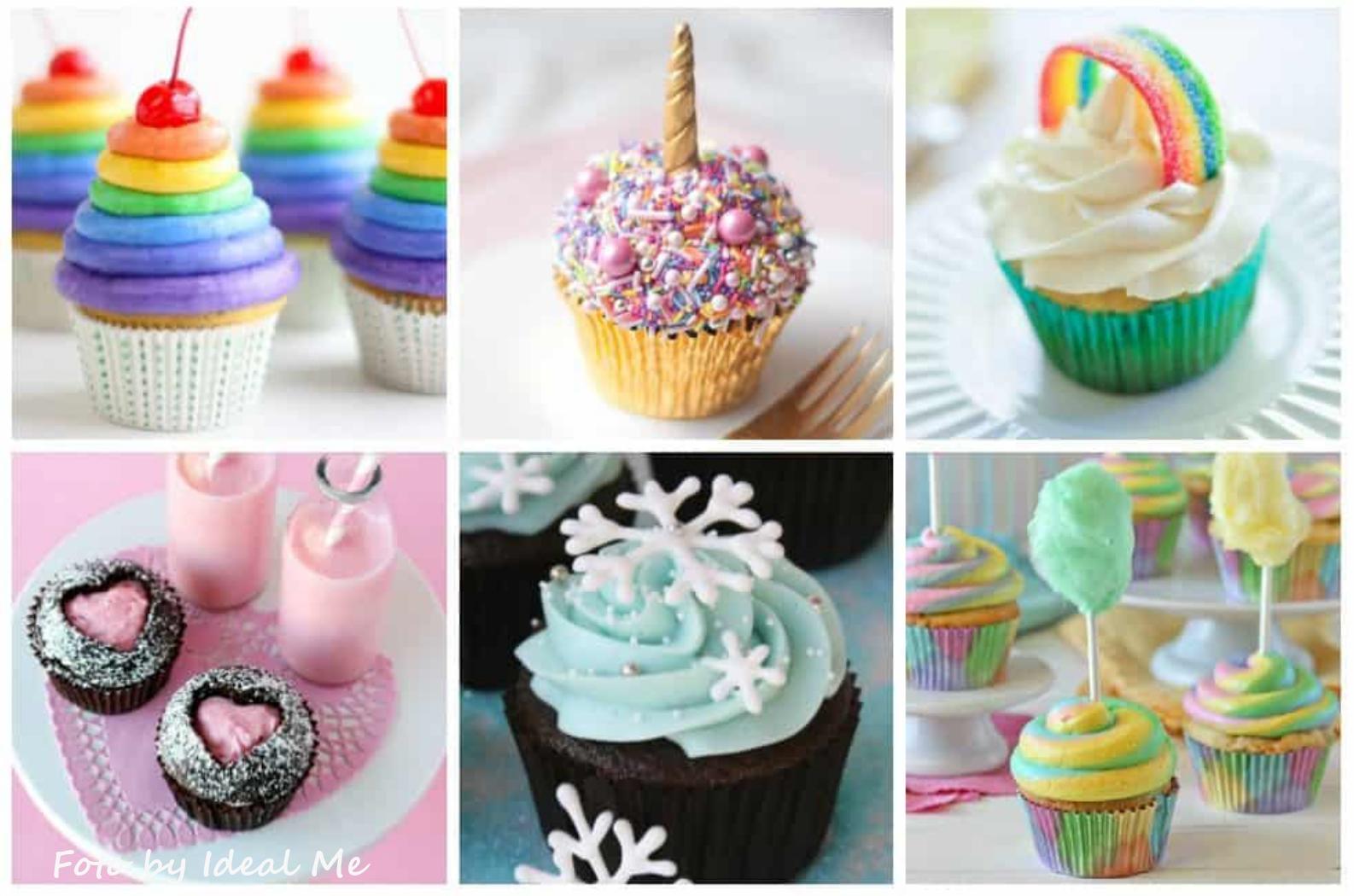 Idee Per Decorare Una Torta muffin, decorazioni muffin per bambini con personaggi animati