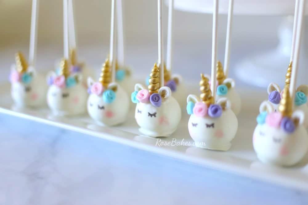 palline per bambini con unicorno