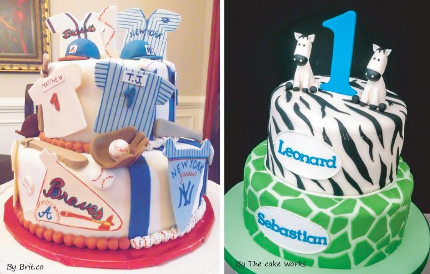 torte di compleanno gemelli