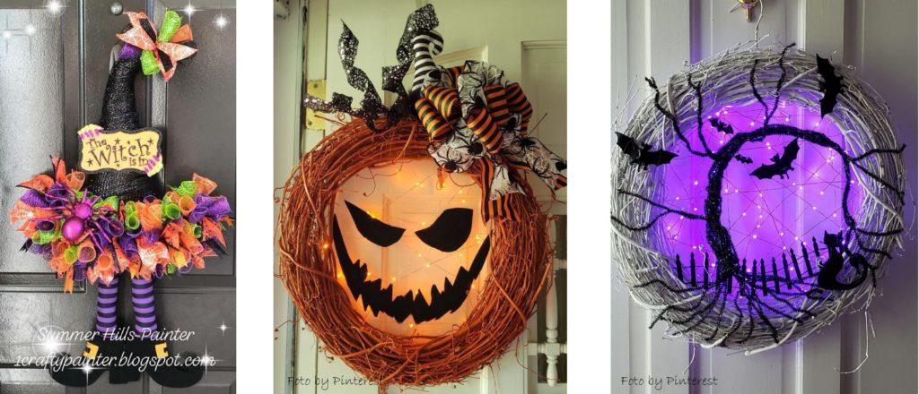 ghirlande di halloween fai da te