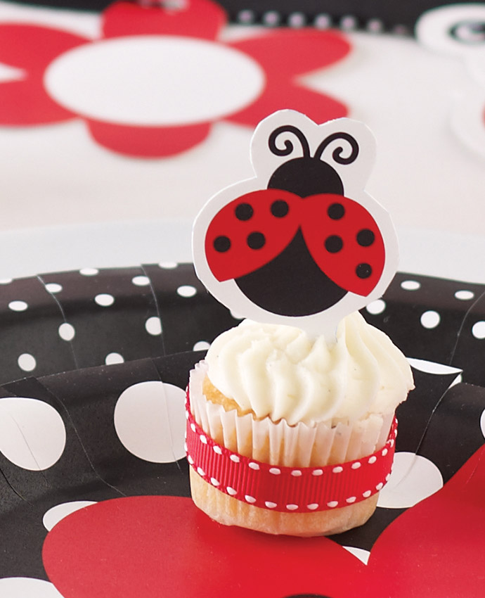 Ladybird-Cupcake