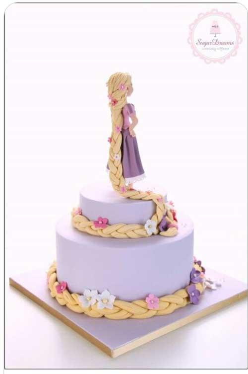 torta di rapunzel