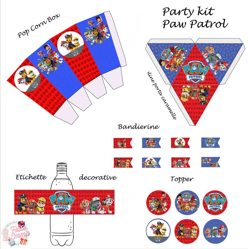 paw-patrol-decorazioni-fai-da-te