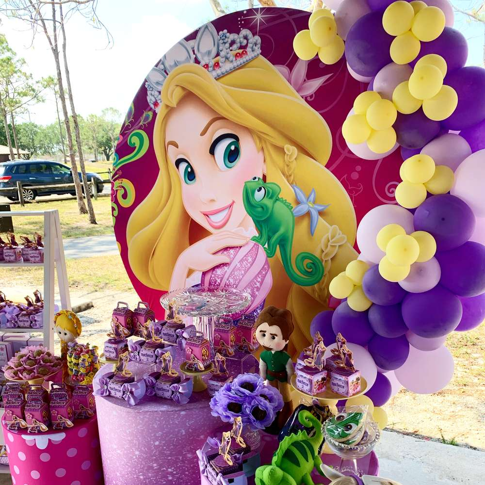 idee compleanno rapunzel