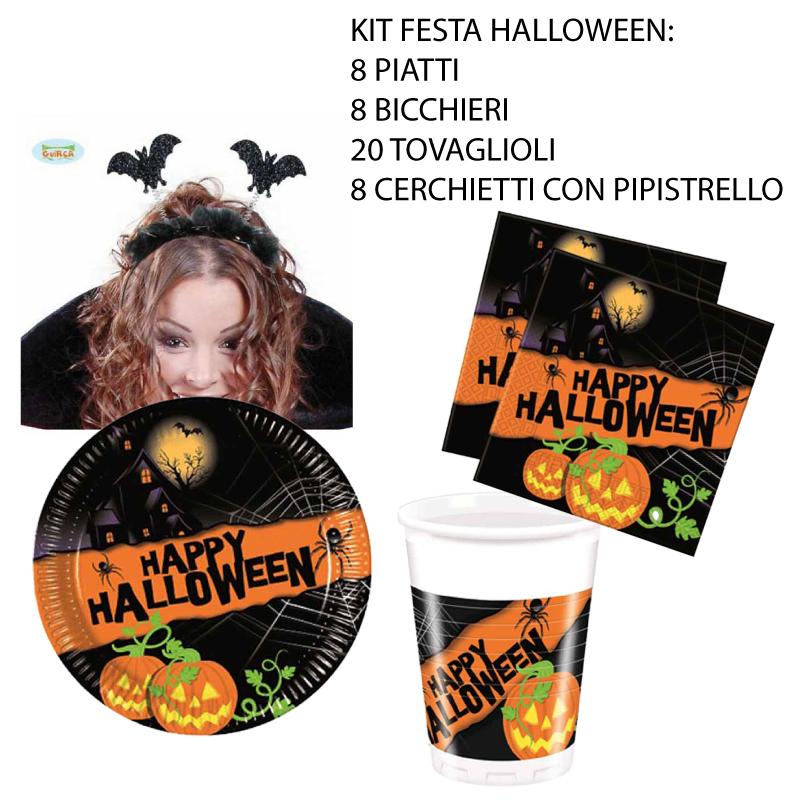 kit halloween con cerchietti