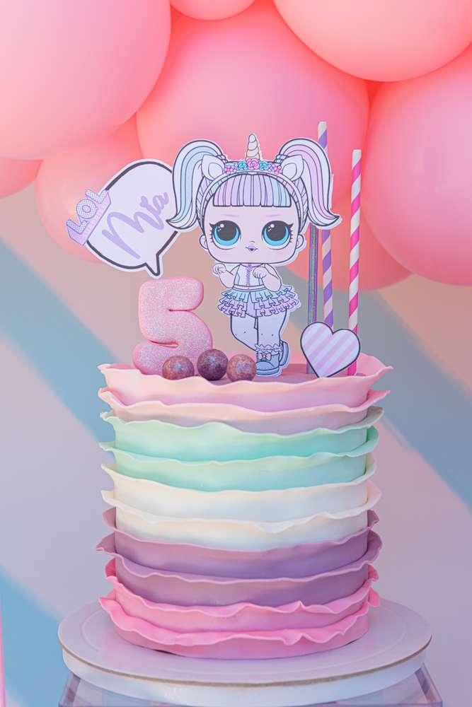 torta compleanno lol